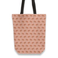 Red rabbit ram pattern Totebag by Savousepate from €25.00   miPic