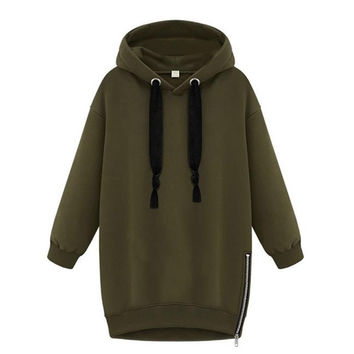 High Quality Loose Hooded Jacket