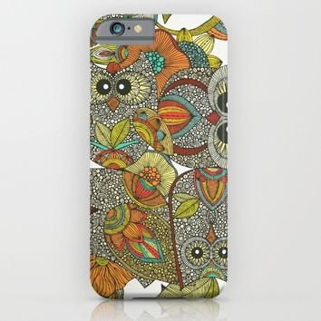 4 Owls iPhone & iPod Case by Valentina Harper