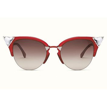 d2587eb4ca Fendi - Irida 0041 S Cat Eye Crystals Sunglasses