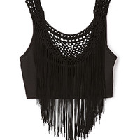 Fringe Queen Crop Top | FOREVER 21 - 2000128821