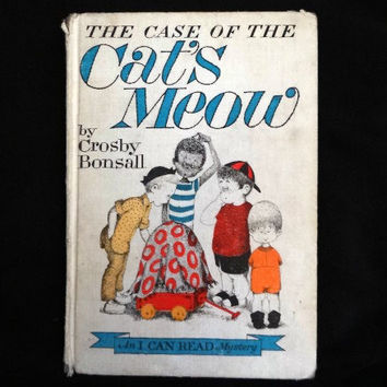 The Case of the Cat's Meow by Crosby Bonsall (Hardcover 1965)