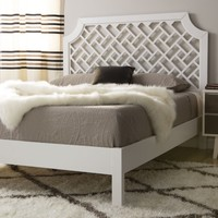 Trellis Queen-size Bed | Overstock.com Shopping - The Best Deals on Beds