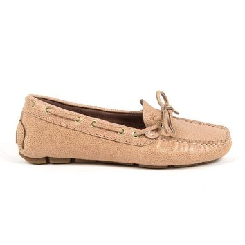 Andrew Charles Womens Loafer Pink Camilla