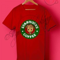 Starbucks Coffee Baby Groot T Shirt - Agilenthawking.com