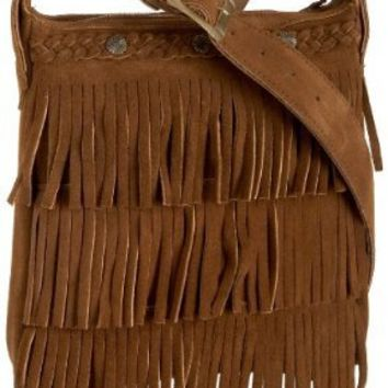 Minnetonka Fringe Handbag,Dusty Brown,one size
