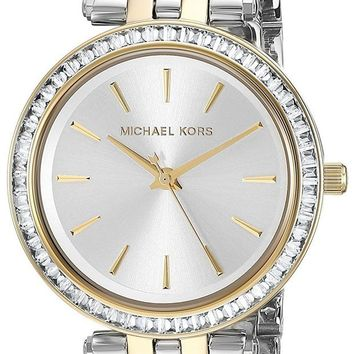 DCCKWA2 Michael Kors Women's Two-Tone Stainless Steel Mini Darci Watch