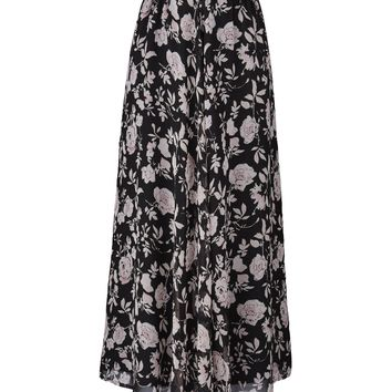 Floaty Printed Maxi Skirt