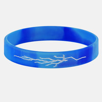 Blue lightning wristband