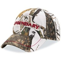 Legendary Whitetails Men's Non-Typical Camo Cap Mossy Oak Winter Camo One Size