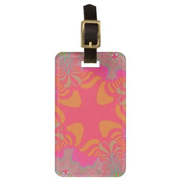 Tropical Cross Luggage Tag