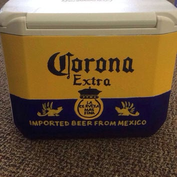 Hand painted Cooler