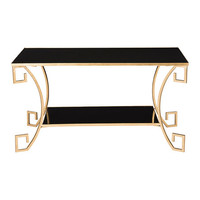 Gold & Black Scarlett Key Table