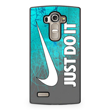 Cyan Nike Just Do It LG G4 Case