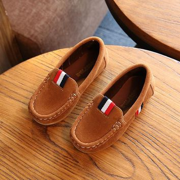 Moccasin Loafers for Toddler Boys