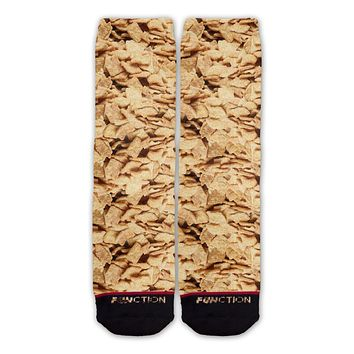 Function - Cinnamon Breakfast Cereal Fashion Sock