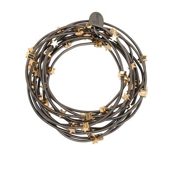 Bee Charming Jewelry Piano Wire Bracelet Set with Stars
