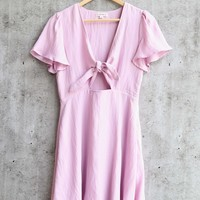 cotton candy la - americana dress - lilac