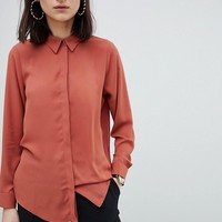 ASOS DESIGN soft shirt at asos.com