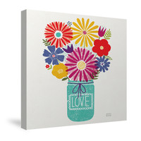 Jar of Sunshine I Canvas Wall Art