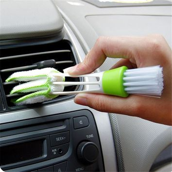 1PCS Keyboard Dust Brush Collector Air-condition Cleaner Computer Cleaning Brushes Tools Window Leaves Blinds Cleaner Duster