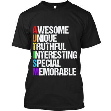 Awesome Autism T-Shirt Custom Ultra Cotton