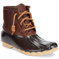 Sperry Top-Sider Women's Salt Water Duck Booties