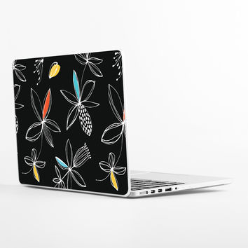 Floral Graphic Laptop Skin