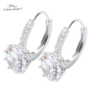 Colorful Variety Wedding Rings Crystal Ruby Engagement Rings For Women Jewelry
