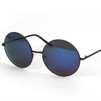 Large Round Circle Sunglasses ( + Colors )