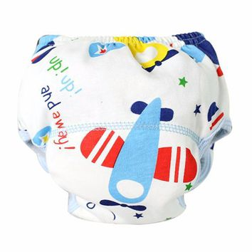 7 Styles Newborn Infant Baby Boy Girl Soft Baby Nappies Baby Cotton Training Pants Reusable Cloth Diaper Washable Nappies Pants