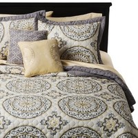 Medallion Venice 5 Piece Quilt Set