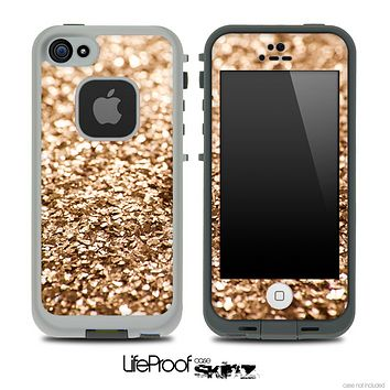 Glimmer Gold Skin for the iPhone 5 or 4/4s LifeProof Case