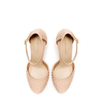 STUDDED VAMP SHOE - Shoes - Woman | ZARA United Arab Emirates