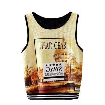 Urban California Cropped Tank Top(s)