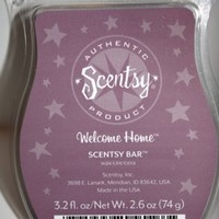 Scentsy Welcome Home Wickless Candle Tart Warmer Wax, 3.2 fl oz