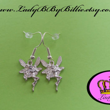 Flying High Fairy Handmade Earrings By Lady B By Billie