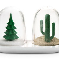 Winter/Summer Salt & Pepper Shaker Set
