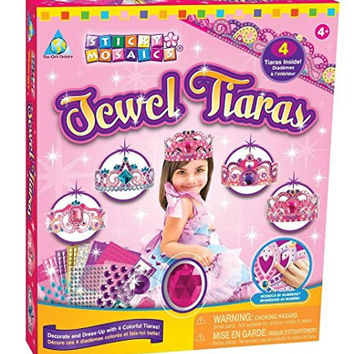 The Orb Factory Sticky Mosaics Jewel Tiaras