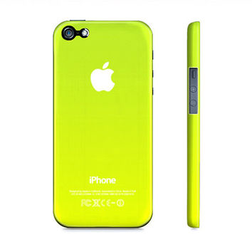 Lime Green Ombre - Premium Slim Fit Iphone 5 Case