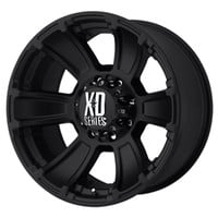 XD 796 Matte Black Finish includes lug nuts, centercaps, and valve stems.
