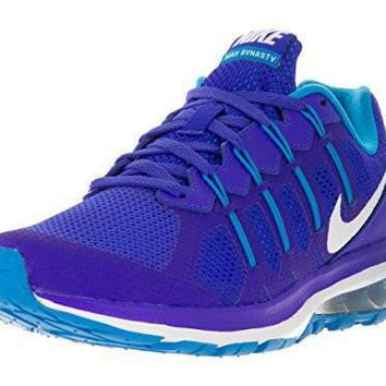 NIKE WOMENS AIR MAX DYNASTY RUNNING SHOE (7.5 B(M) US, RACER BLUE/WHITE/BLUE GLOW)