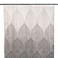 Tan Filigree Shower Curtain | Kirklands