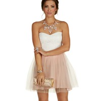 Sale-pink Darling Tulle On The Block Dress