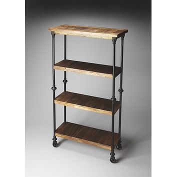 Fontainebleau Industrial Chic Bookcase by Butler Specialty Company