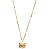 Marc by Marc Jacobs Fantastical Tale Strass Owl Pendant - Free Shipping