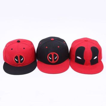 Deadpool Dead pool Taco 3 Styles Fancy&Fantasy Anime Comic Marvel  Hip Hop Snapback Summer Cotton Cap Hat adjustable adult Baseball Cap AT_70_6