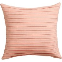 "Fold Blush 16"" Pillow With Down-alternative Insert"