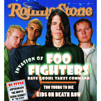 Foo Fighters , Rolling Stone no. 718, October 1995 Photographic Print by Dan Winters at AllPosters.com
