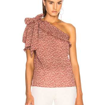 Ulla Johnson Alene Top in Clay | FWRD